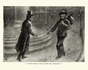 Dickens, David Copperfield, I stood face to face with Mr. Peggotty