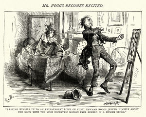 Dickens, Nicholas Nickleby, an extravagant pitch of fury