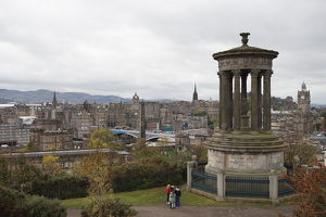 travel/unesco world heritage/dugald stewart monument old city edinburgh united