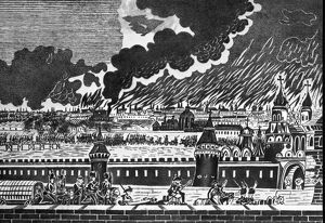 Fire Of Moscow, 1812