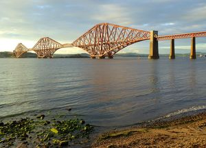 The firth of forth railway bridge
