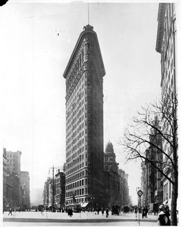The Flatiron Building On 5th Avenue In New York City