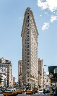 Flatiron building , Manhattan, New York, USA