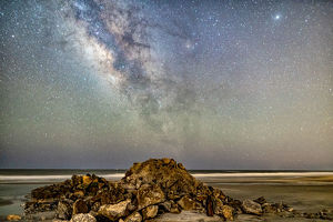 Folly Badlands Milky Way