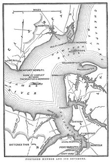 Fort Monroe and its environs
