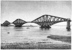 Forth Bridge near Edinburgh