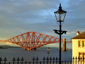 The Forth bridge, South Queensferry, Scotland