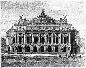 Garnier Opera House ,Paris