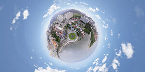 George Town, Penang in 360° View