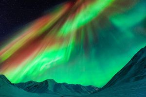 Gigantic Northern Lights in Alaska