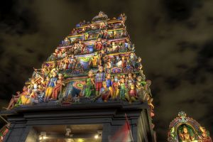 Gopuram of Sri Mariamman temple