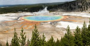 Grand Prismatic Spring, Yellowstone.