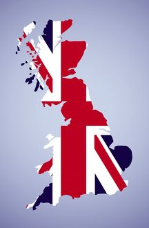 Great Britain Map Icon