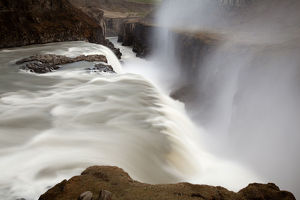 Gullfoss waterfall, Golden Circle, South Iceland, Iceland, Europe