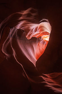 Heart shaped abstract curves