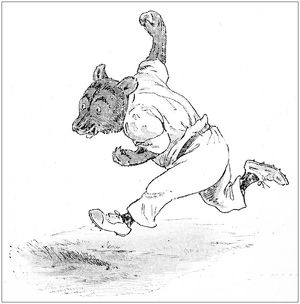 magical world illustration/humanized animals illustrations/humanized animals illustrations cricket bears