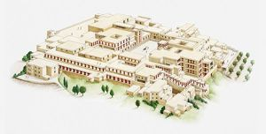 Illustration of palace of Knossos