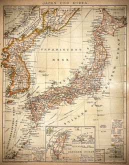 Japan and Korea 1898