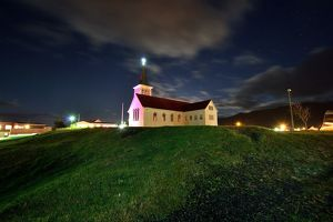 global landscape views/fred concha photography/kirkjufell church stars