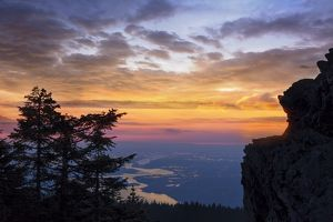 Larch Mountain Sunset