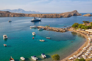 travel imagery/travel photographer collections dado daniela travel photography/lindos bay