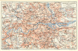 London City map 1895