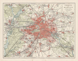 Map of Berlin 1900