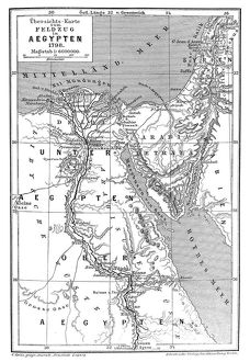 Map of Napoleons Campaign in Egypt 1798 - French campaign in Egypt and Syria