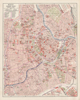 Map of Vienna 1900