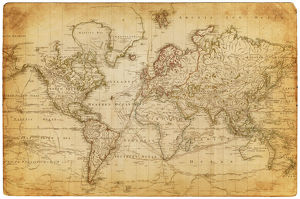 Map of the world 1800