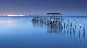 global landscape views/fred concha photography/masterpiece architecture popular dock palafa tico