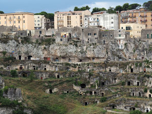 Matera Old And New, UNESCO World Heritage Site In Southern Italy