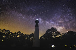 Under the Milky Way at Hunting Island Light House