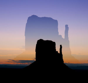 Monument Valley Double Exposures