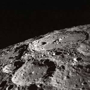 Moon Surface and Horizon