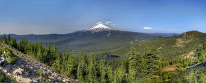 Mount Hood View from Tom Dick and Harry Mountain