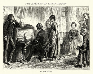 The Mystery of Edwin Drood, At the Piano