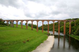 photographers/frans sellies/nineteenth century arched leaderfoot viaduct river