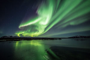 Northern lights/Aurora borealis