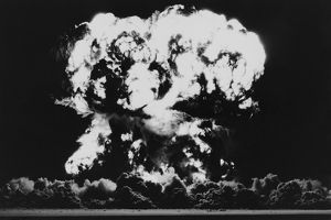 Nuclear Bomb Explosion, Owen Test, Nevada, 23rd July 1957