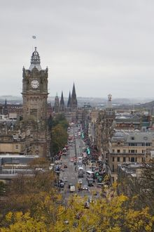 travel/unesco world heritage/overview princes street edinburgh united kingdom