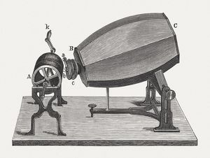 Phonautograph (c. 1860) by Scott and KA¶nig, published in 1880