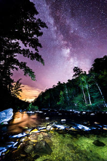 Pisgah National Forest Milky Way