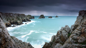 global landscape views/fred concha photography/pointe pen hir crozon peninsula brittany