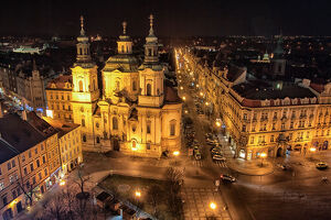 travel imagery/travel photographer collections dado daniela travel photography/prague old town square