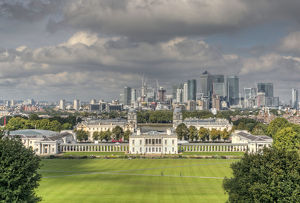 Queens House, Greenwich and Canary Wharf