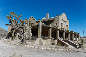 Railroad Depot-Rhyolite NV
