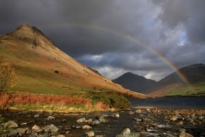 Rainbow in Wast Water