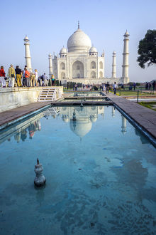 Reflection of Taj Mahal