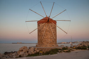 travel imagery/travel photographer collections dado daniela travel photography/rhodos windmill